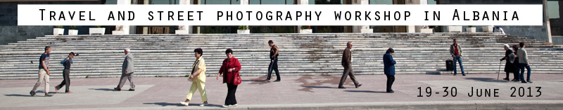 Travel and street photography photo tour to Albania.